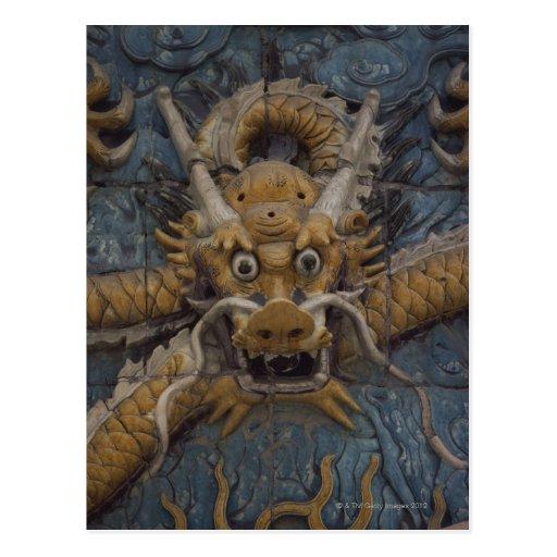 China, Peking, die verbotene Stadt, Drache neun Postkarten