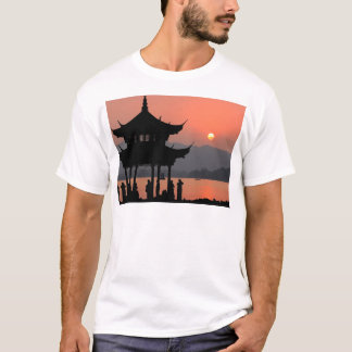 China-Sonnenuntergang T-Shirt