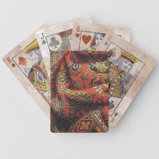 China-Stoff Pokerkarten