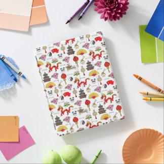 China-Symbol-Muster iPad Hülle