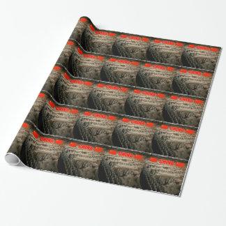 CHINA Terrakotta-Krieger Geschenkpapier