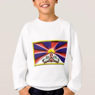 China: Tibet (Künstlerflagge) Sweatshirt
