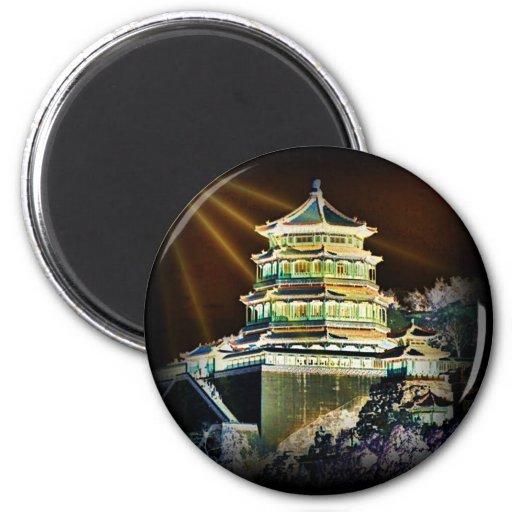 China träumt Magneten Kühlschrankmagnet