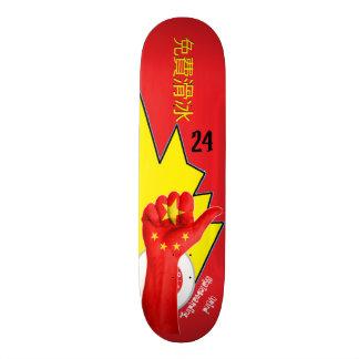 Chinaschleifen skateboarding Skateboard