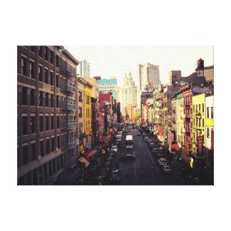 Chinatown New York City Leinwanddruck