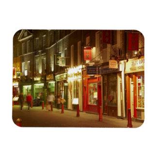 Chinatown, Soho, London, England, Vereinigtes Köni Eckiger Magnet