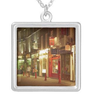 Chinatown, Soho, London, England, Vereinigtes Versilberte Kette