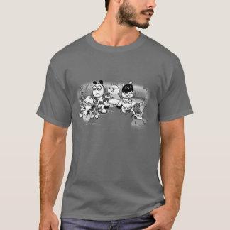 ChinChatComics Zombie-Angriffs-Chinchillas T-Shirt