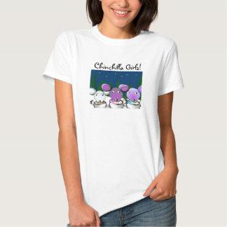 Chinchilla Girlz T-Shirts