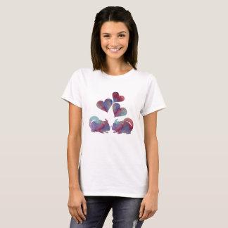 Chinchilla-Kunst T-Shirt