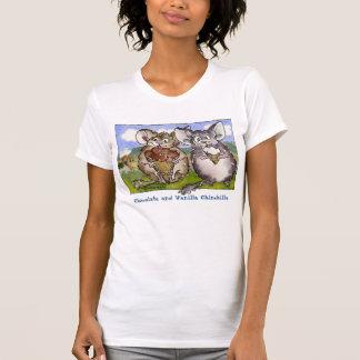 Chinchilla-, Schokoladen-und Vanille-T - T-Shirt