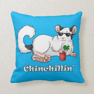 Chinchillin Wurfs-Kissen 41 cm x 41 cm Kissen