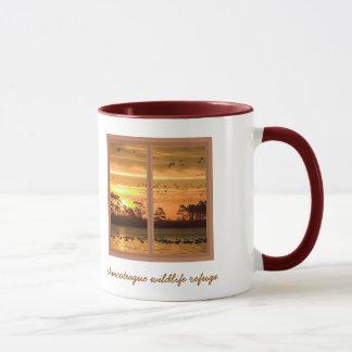 Chincoteague Insel-Sonnenuntergang-Kaffee-Tasse Tasse