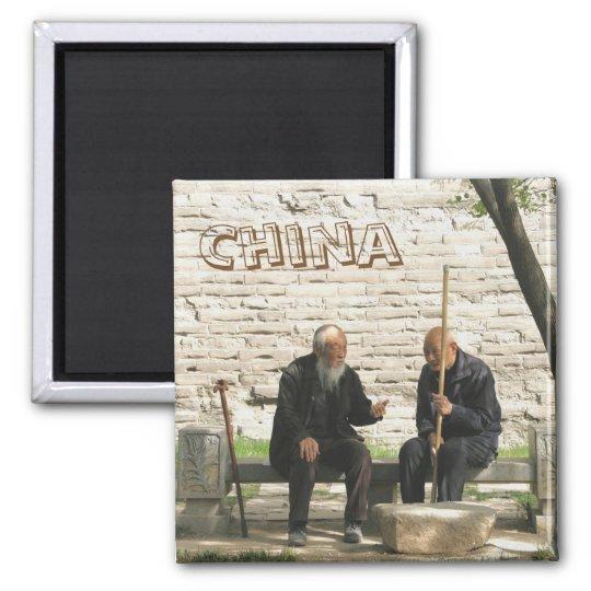 Chinese Council of Elders Quadratischer Magnet
