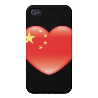 Chinese_heart_flag iPhone 4/4S Hülle