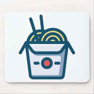 Chinese-Kung Pao Nudeln Mousepad