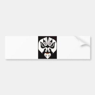 Chinese-Peking-Opern-China-Japan-Japaner-Maske Autoaufkleber