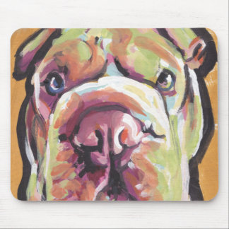 Chinese Shar Pei Pop-Kunst Mousepads
