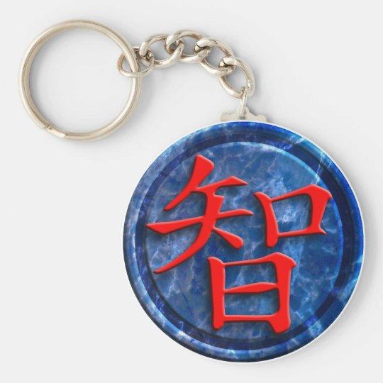 chinese sign wisdom schlüsselanhänger