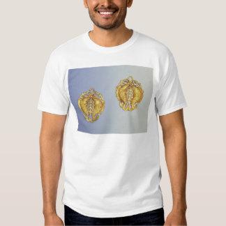 Chinesische Anhänger, Gold mit 17 Karat überzogen T Shirt