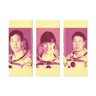 Chinesische Astronauten dehnten Leinwand-Druck aus Leinwanddruck