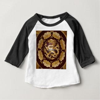 Chinesische Dracheplakette Baby T-shirt
