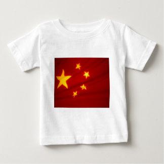 Chinesische Flagge Baby T-shirt