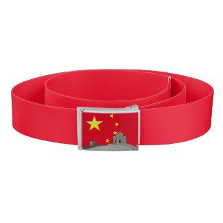Chinesische Flagge Gürtel