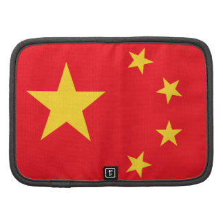 Chinesische Flagge Mappe