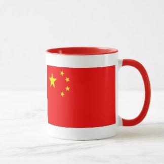 Chinesische Flagge Tasse