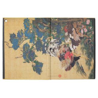 Chinesische Japaner-Kunst Ipad P des Hahn-neuen