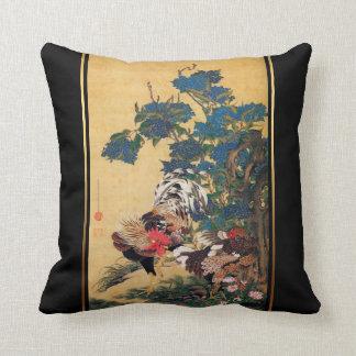 Chinesische japanische Kunst Pillow2 des Kissen