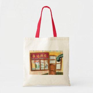 Chinesische Küche-Tasche (Pike-Platz-Markt Budget Stoffbeutel