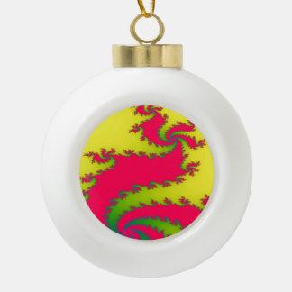 Chinesische neues Jahr-Drache-Fraktal-Verzierung Keramik Kugel-Ornament