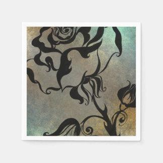 Chinesische Rose Serviette