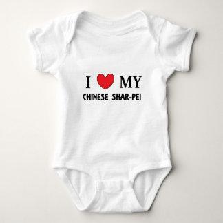 chinesische shar Liebe Baby Strampler