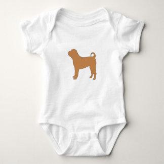 chinesische shar Silofarbe Baby Strampler