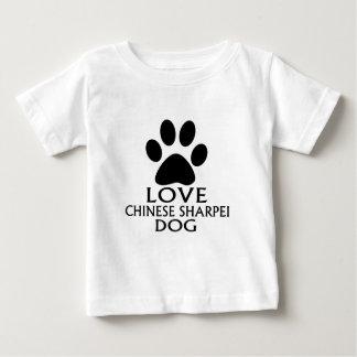 CHINESISCHE SHARPEI HUNDEentwürfe DER LIEBE- Baby T-shirt