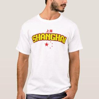 """Chinesische Stadt Shanghai """"Team """" T-Shirt"""