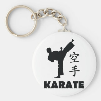 chinesische Symbolikone des Karatemannes Schlüsselband