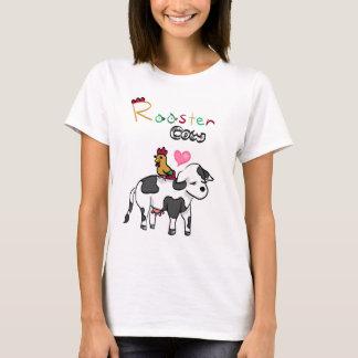 Chinesische Tierkreis-Liebhaber RoosterxOx T-Shirt