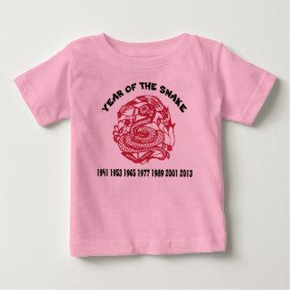 Chinesische Tierkreis-Schlange Baby T-shirt