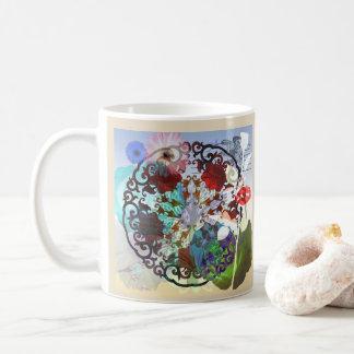 Chinesischer abstrakter Künstler-Entwurf Kaffeetasse