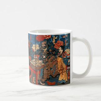Chinesischer Baron Kan-u 1853 Kaffeetasse