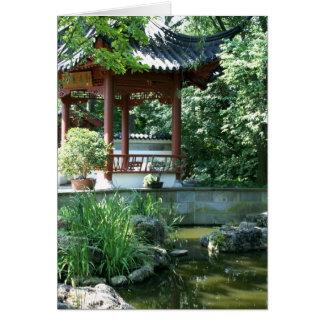 Chinesischer Garten Karte