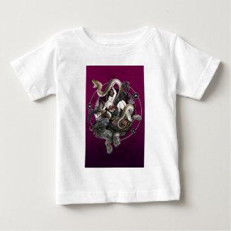 Chinesischer Geist der Schildkröte-Schlange Baby T-shirt