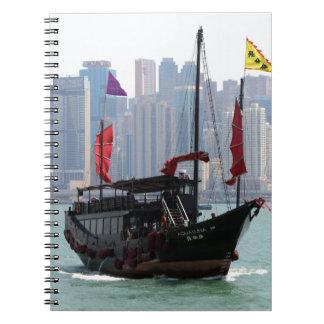 Chinesischer Kram, Hong Kong 2 Spiral Notizblock
