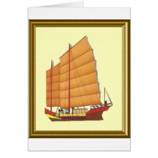Chinesischer Kram Karte
