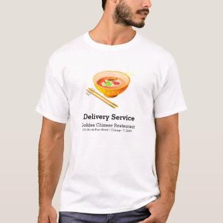 Chinesischer Nahrungsmittelzustelldienst T-Shirt