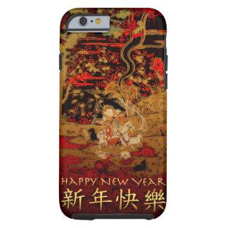 Chinesischer RAM-Schaf-Ziegen-neues Jahr iPhone Tough iPhone 6 Hülle